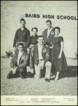 1959 Baird High School Yearbook Page 18 & 19