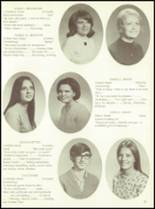 1971 Fanning Trade High School Yearbook Page 14 & 15