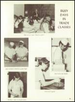 1971 Fanning Trade High School Yearbook Page 54 & 55