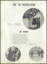 1949 Verona High School Yearbook Page 12 & 13