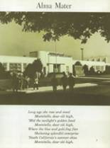 1970 Montebello High School Yearbook Page 10 & 11
