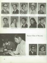 1970 Montebello High School Yearbook Page 58 & 59