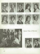1970 Montebello High School Yearbook Page 70 & 71