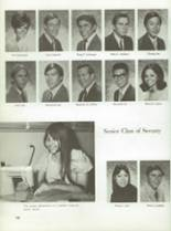 1970 Montebello High School Yearbook Page 86 & 87