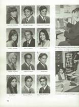 1970 Montebello High School Yearbook Page 100 & 101