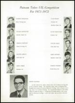 1973 Putnam High School Yearbook Page 28 & 29