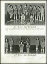 1973 Putnam High School Yearbook Page 54 & 55