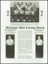 1984 Mt. Vernon High School Yearbook Page 40 & 41