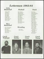 1984 Mt. Vernon High School Yearbook Page 42 & 43