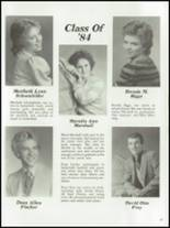 1984 Mt. Vernon High School Yearbook Page 50 & 51