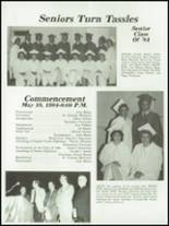 1984 Mt. Vernon High School Yearbook Page 54 & 55