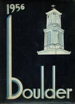 1956 Yearbook Fitchburg High School