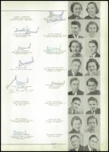 1937 Bay City Central High School Yearbook Page 42 & 43