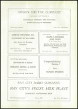 1937 Bay City Central High School Yearbook Page 124 & 125