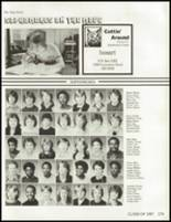 1985 South High School Yearbook Page 182 & 183