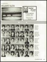 1985 South High School Yearbook Page 186 & 187