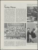 1989 Cameron High School Yearbook Page 80 & 81