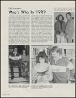 1989 Cameron High School Yearbook Page 90 & 91