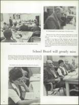 1971 La Porte High School Yearbook Page 36 & 37