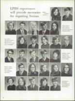 1971 La Porte High School Yearbook Page 84 & 85