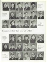 1971 La Porte High School Yearbook Page 86 & 87