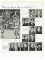 1971 La Porte High School Yearbook Page 90 & 91