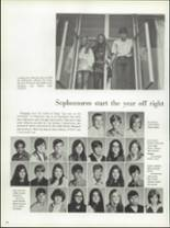 1971 La Porte High School Yearbook Page 112 & 113