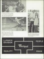 1971 La Porte High School Yearbook Page 216 & 217