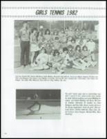 1983 Vashon High School Yearbook Page 106 & 107