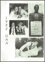 1983 Thayer Academy Yearbook Page 80 & 81