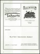 1983 Thayer Academy Yearbook Page 134 & 135