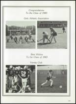 1983 Thayer Academy Yearbook Page 136 & 137