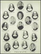1949 St. Marys Catholic High School Yearbook Page 14 & 15