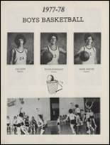 1978 St. Jo High School Yearbook Page 56 & 57