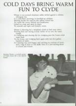 1985 Clyde High School Yearbook Page 24 & 25