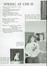 1985 Clyde High School Yearbook Page 28 & 29