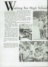 1985 Clyde High School Yearbook Page 46 & 47