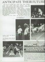 1985 Clyde High School Yearbook Page 50 & 51