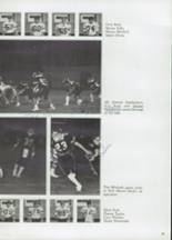 1985 Clyde High School Yearbook Page 52 & 53