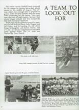 1985 Clyde High School Yearbook Page 54 & 55