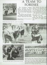 1985 Clyde High School Yearbook Page 56 & 57