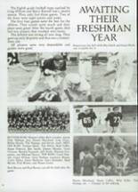 1985 Clyde High School Yearbook Page 60 & 61