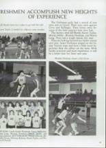 1985 Clyde High School Yearbook Page 68 & 69