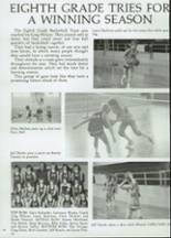 1985 Clyde High School Yearbook Page 70 & 71
