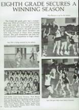 1985 Clyde High School Yearbook Page 72 & 73