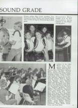 1985 Clyde High School Yearbook Page 82 & 83
