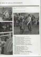 1985 Clyde High School Yearbook Page 94 & 95