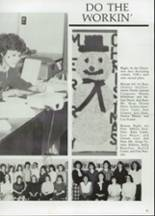 1985 Clyde High School Yearbook Page 98 & 99