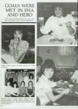 1985 Clyde High School Yearbook Page 102 & 103