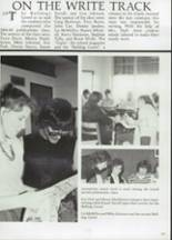 1985 Clyde High School Yearbook Page 108 & 109